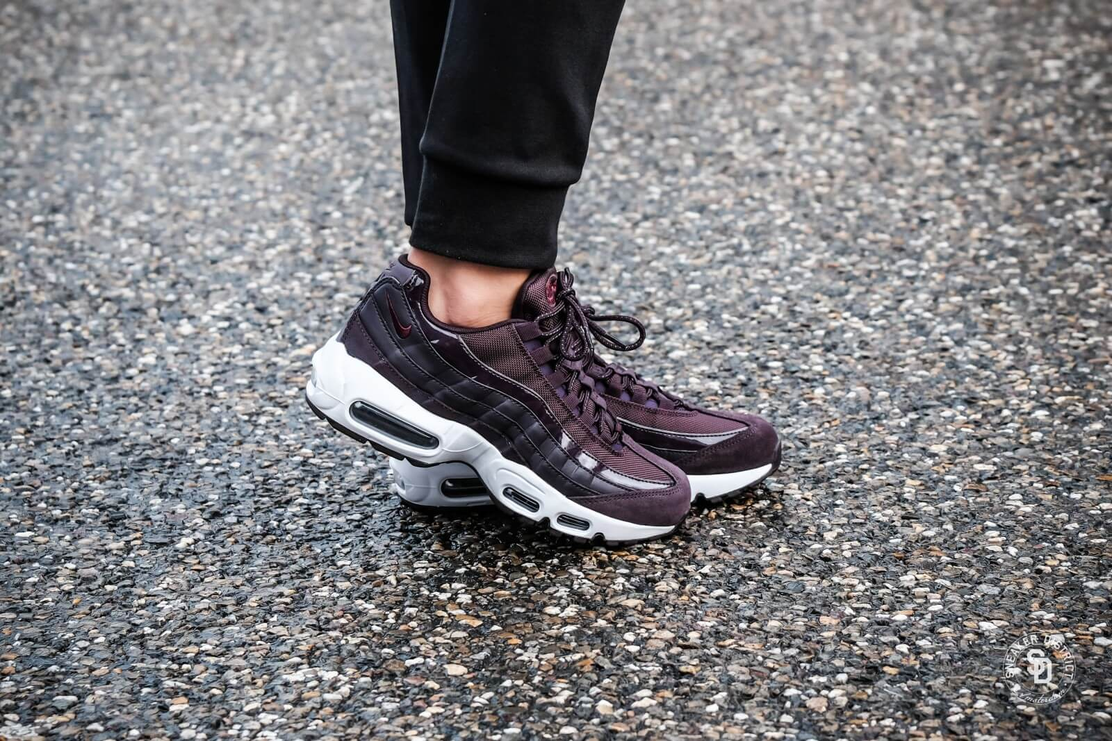nike air max 95 femmes bordeau