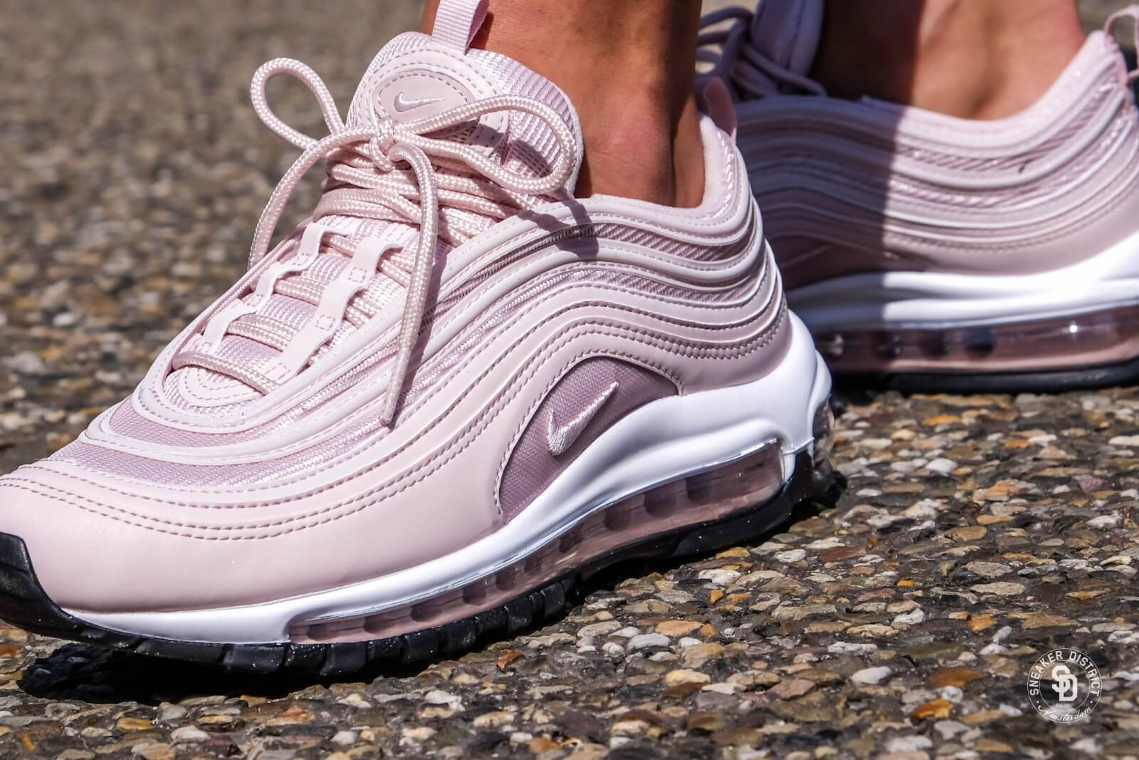 Nike Wmns Air Max 97 (Barely Rose Barely Rose Black)