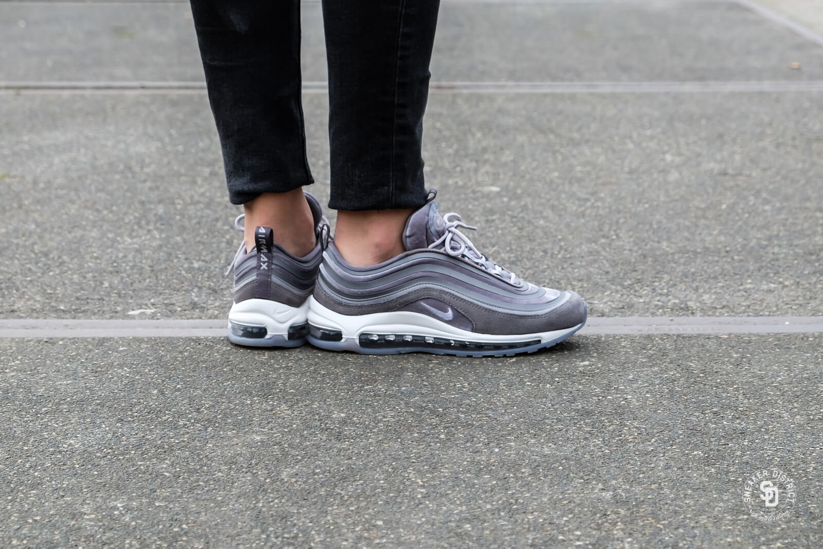 Nike Air Max 97 LX Wmns Black Black White | Footshop