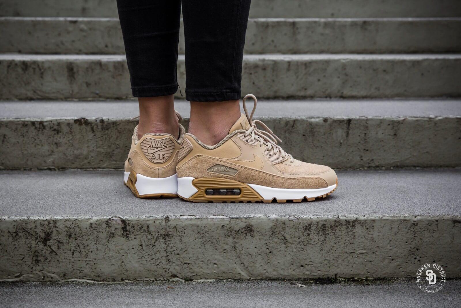 chaussure nike air max 90 femme se mushroom gum