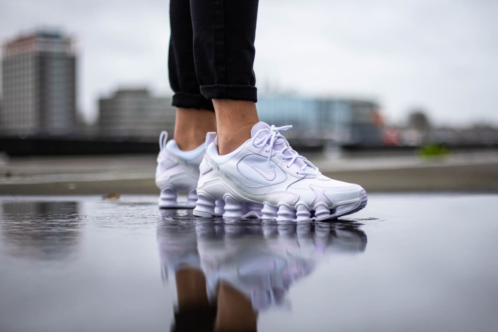 Nike Women's Shox TL Nova White/Barely Grape