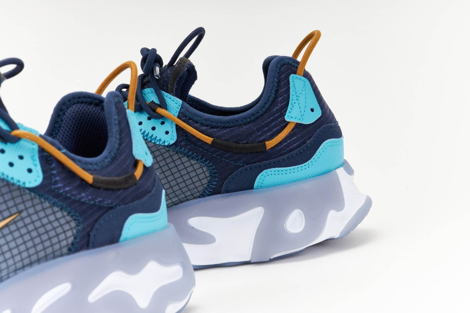 Nike React Live Midnight Navy/Wheat-Turquoise Blue