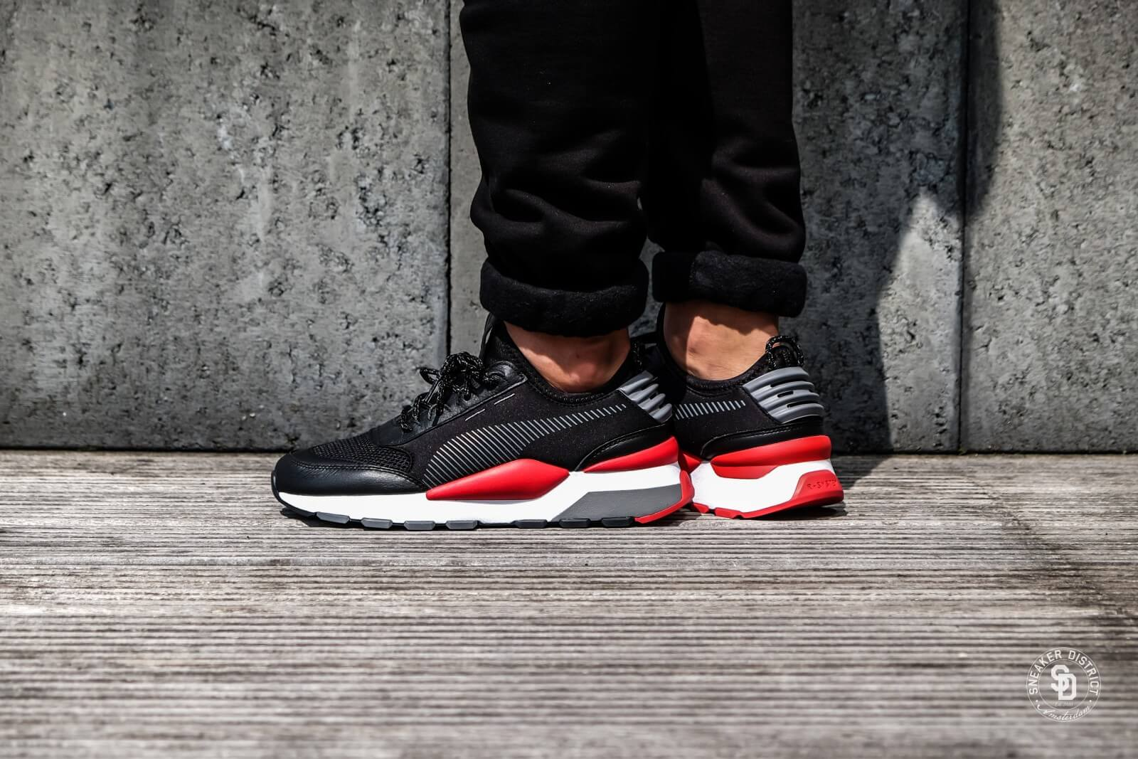 Puma RS-0 Play Black/High Risk Red - 0367515-02