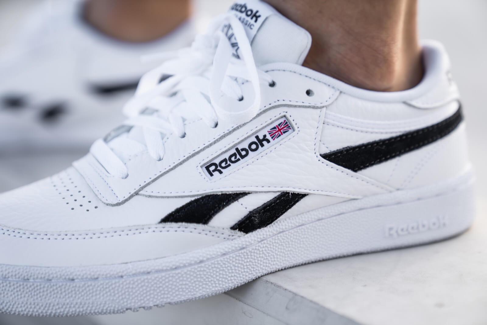 Reebok Club C Revenge Leather Sneakers Chalkblnaco