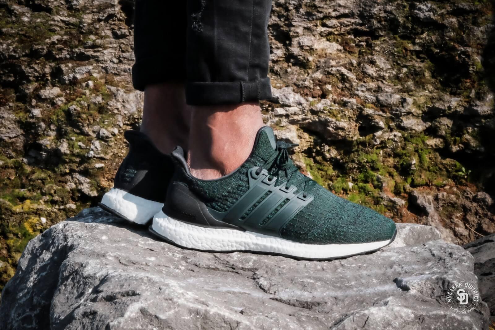 adidas boost green