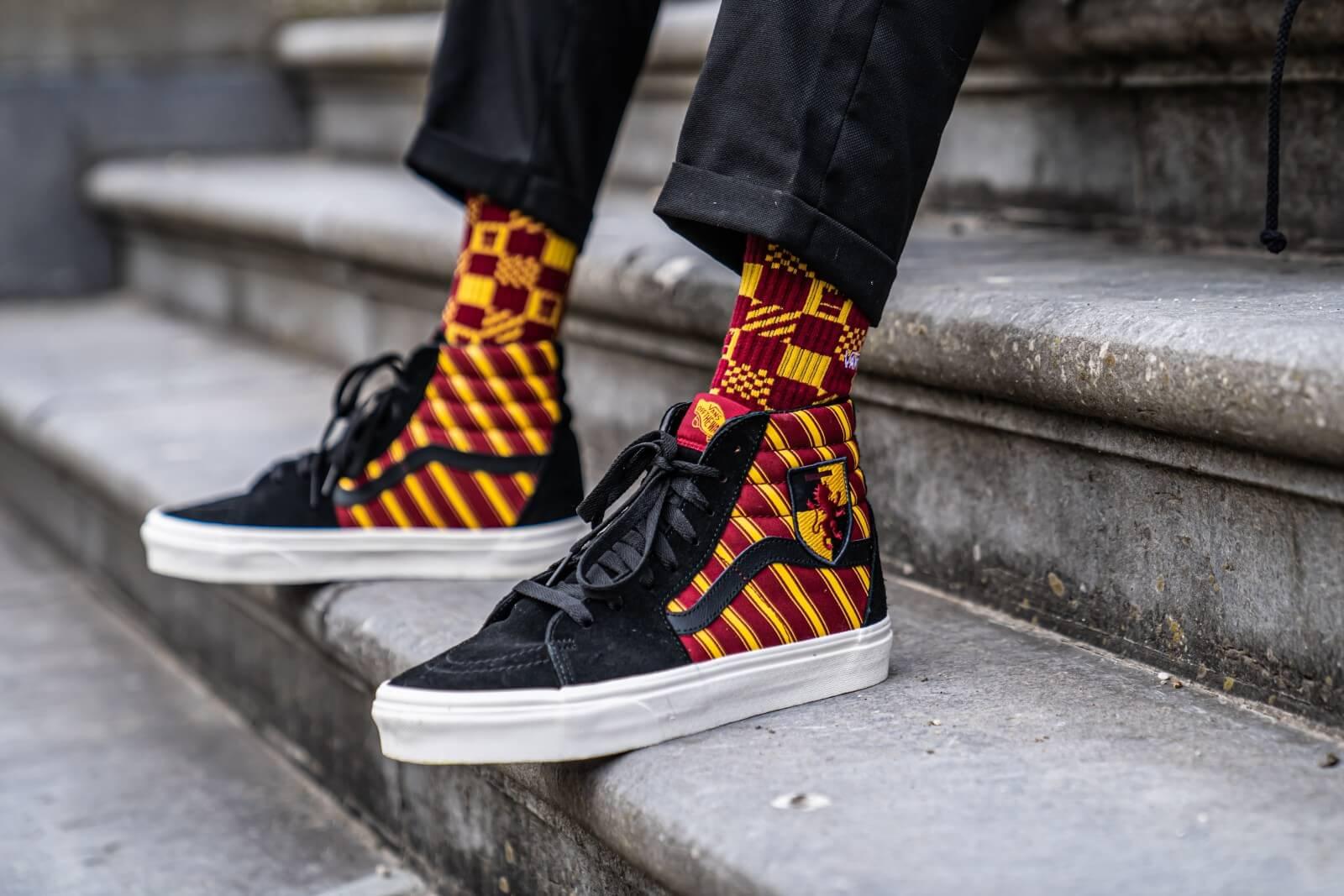 Vans x Harry Potter Gryffindor Crew Socks Size 6.5 9 VN0A3I66SP31