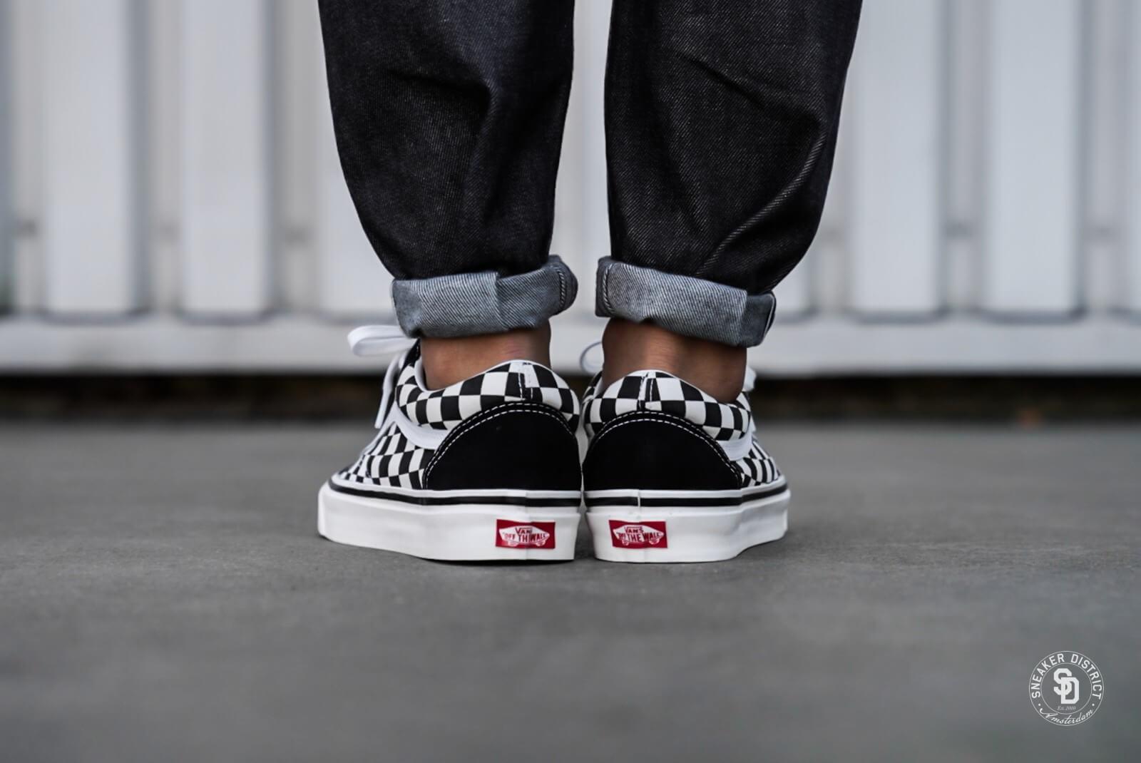 Vans Old Skool 36 DX Anaheim Factory Black Checkerboard VN0A38G2OAK
