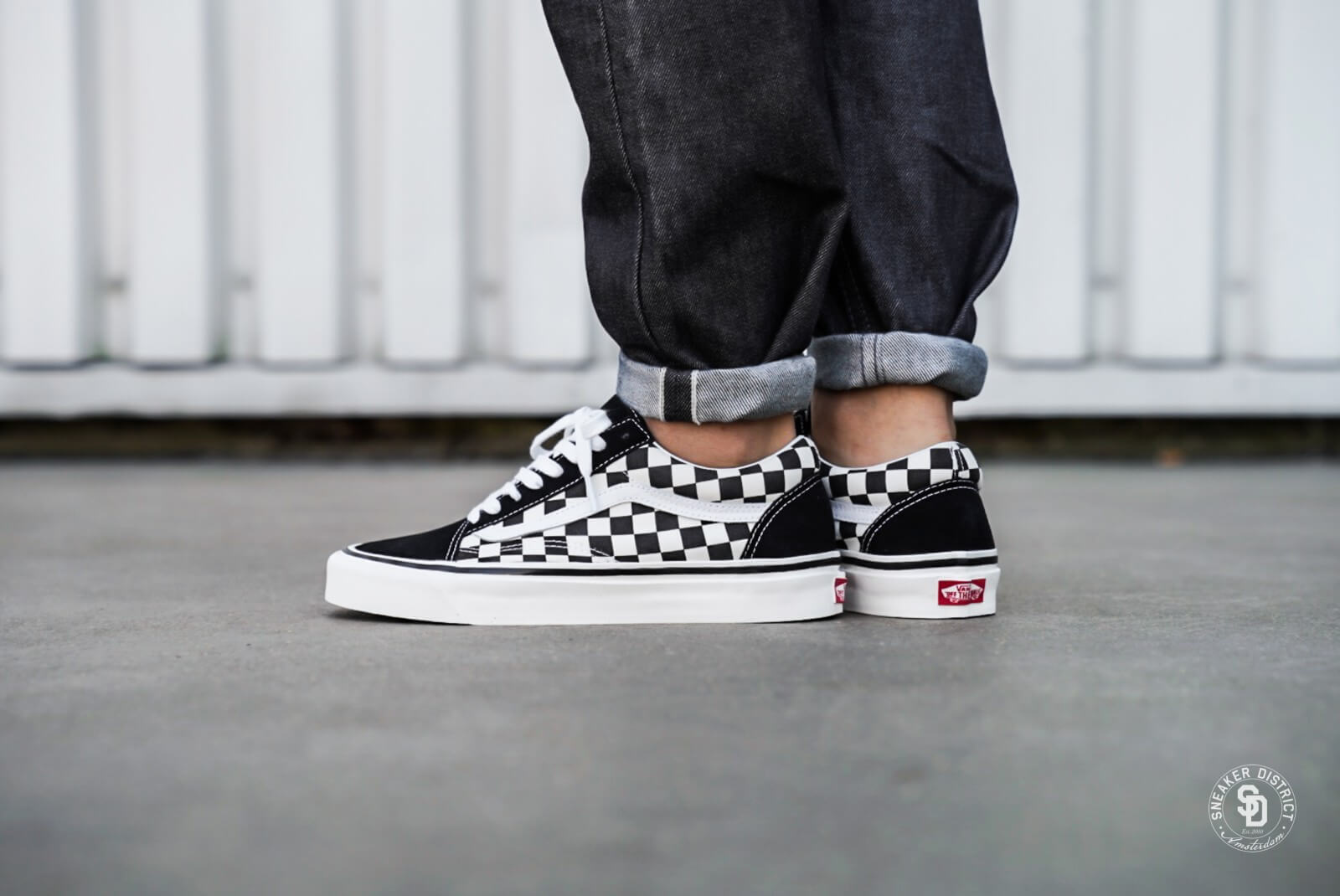 Vans Old Skool 36 DX Anaheim Factory BlackCheckerboard VN0A38G2OAK1