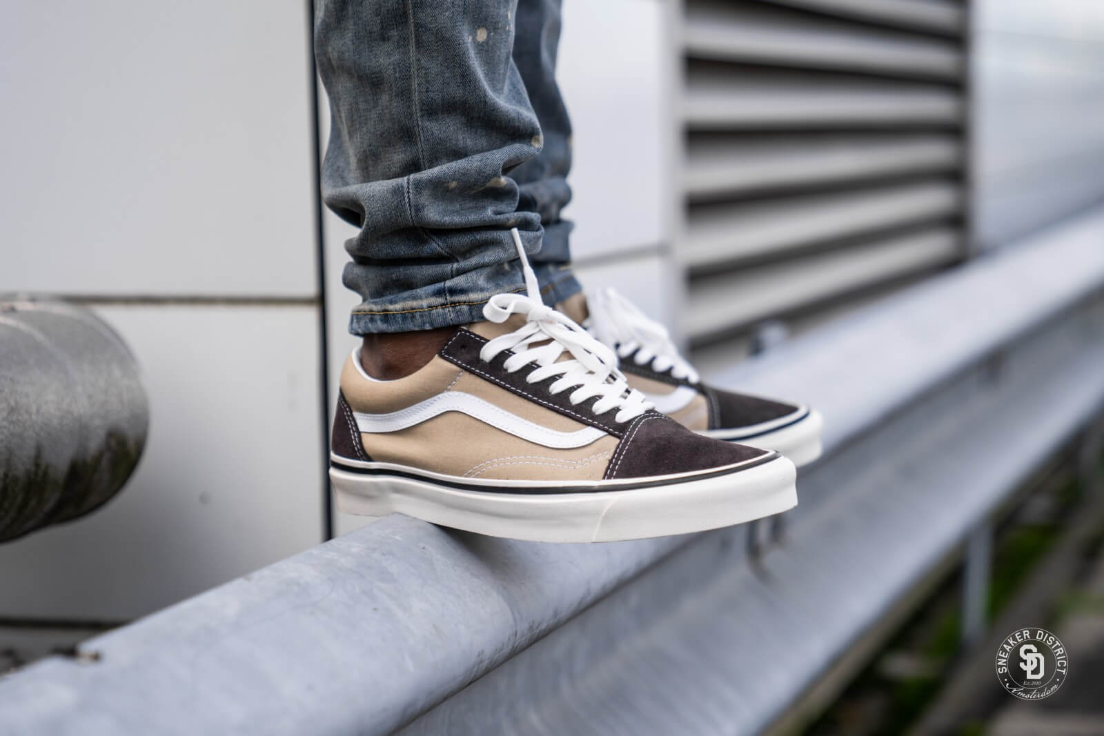 Vans Old Skool 36 Dx Anaheim Factory OG ChocolateOG Khaki VN0A38G2TPU1
