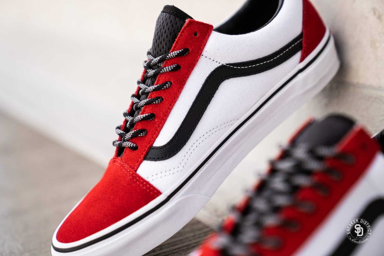 Chaussures OTW Webbing Old Skool   Rouge   Vans