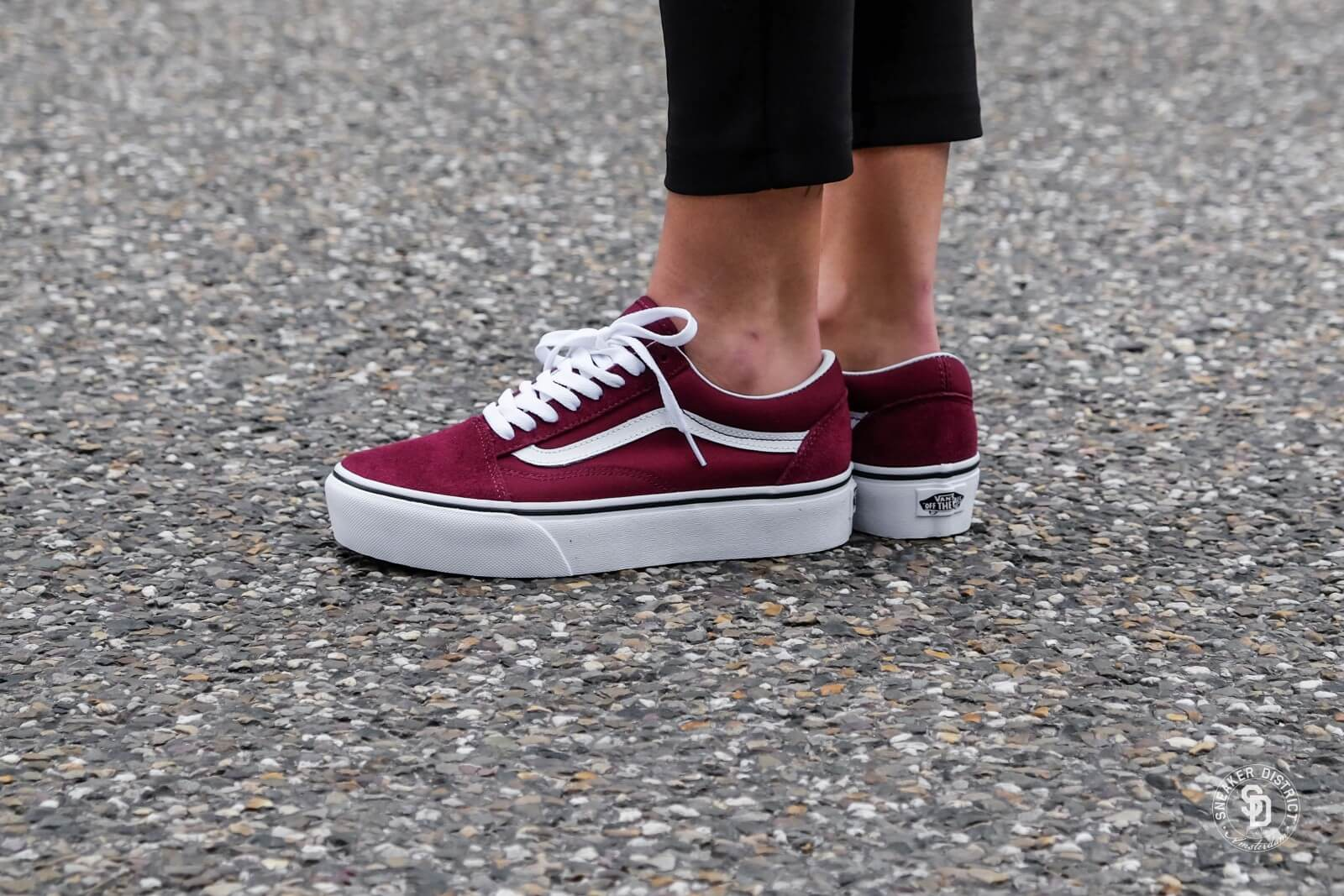 vans old skool platform vs normal, Chaussures basses | Chaussures ...