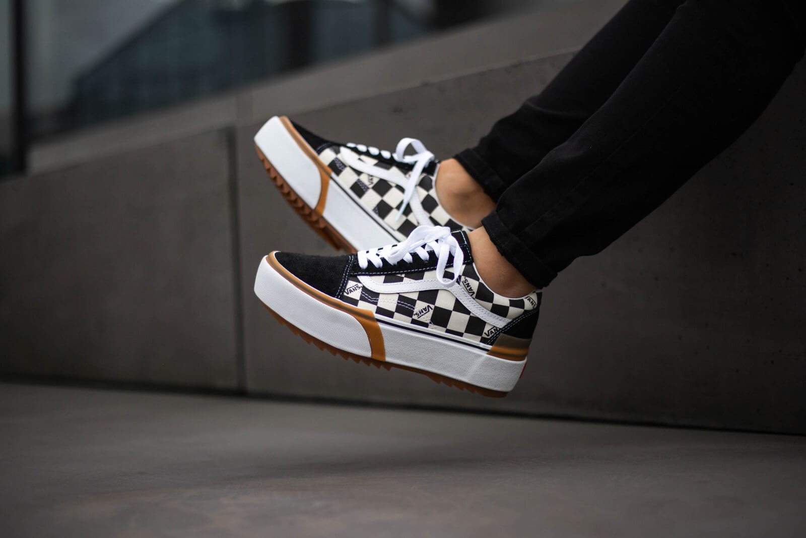 vans checkerboard old skool femme