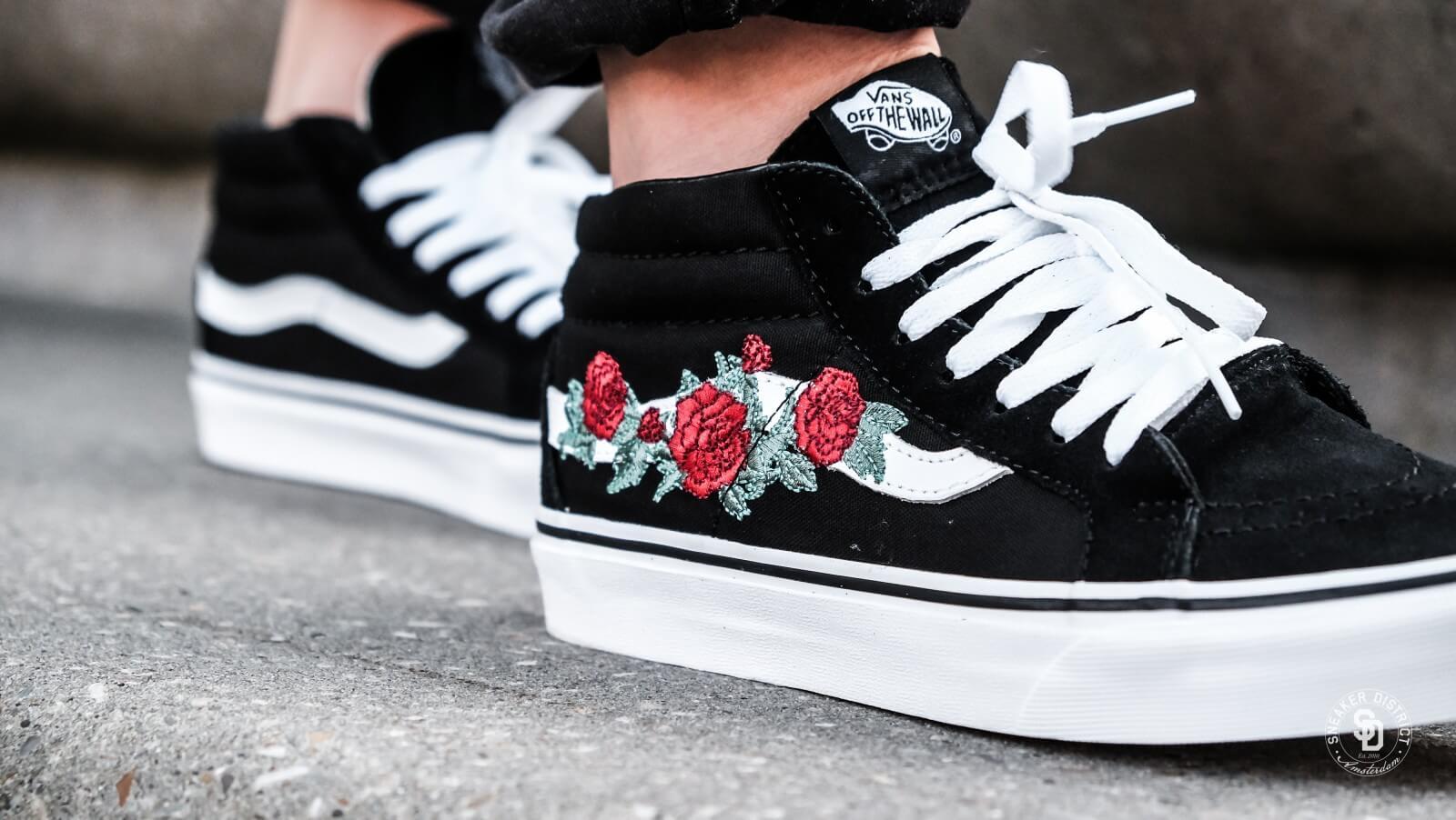 vans old skool roses