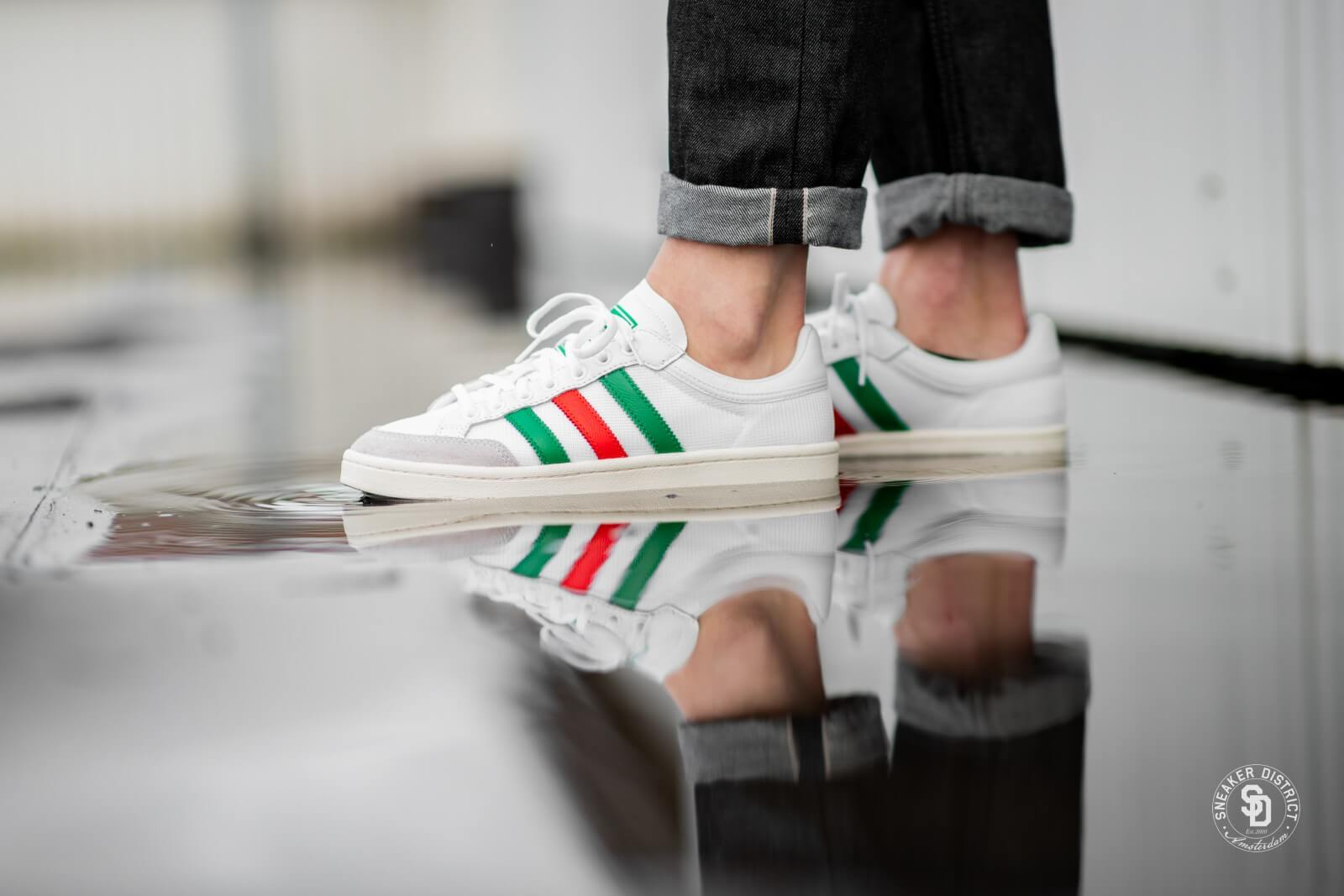 Adidas Americana Low White/Red/Green