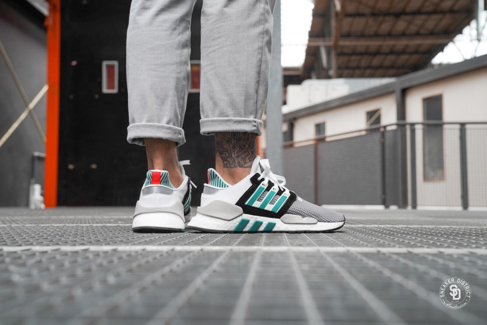 Adidas EQT Support 9118 Core BlackSub Green AQ1037