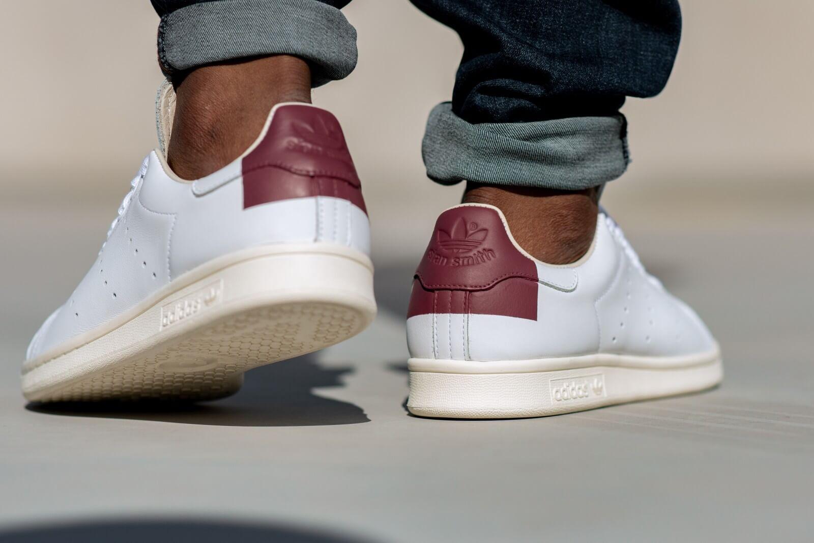 Adidas Stan Smith Footwear WhiteBurgundy EE5784