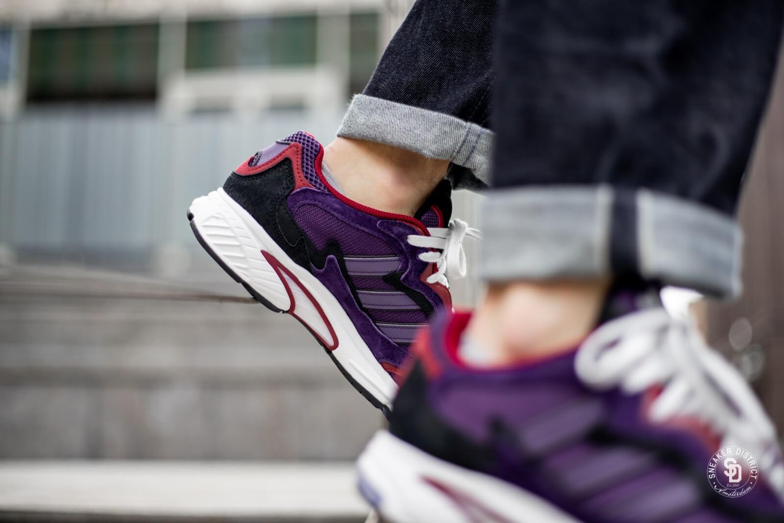 Adidas Temper Run Legend PurpleBurgundy G27921
