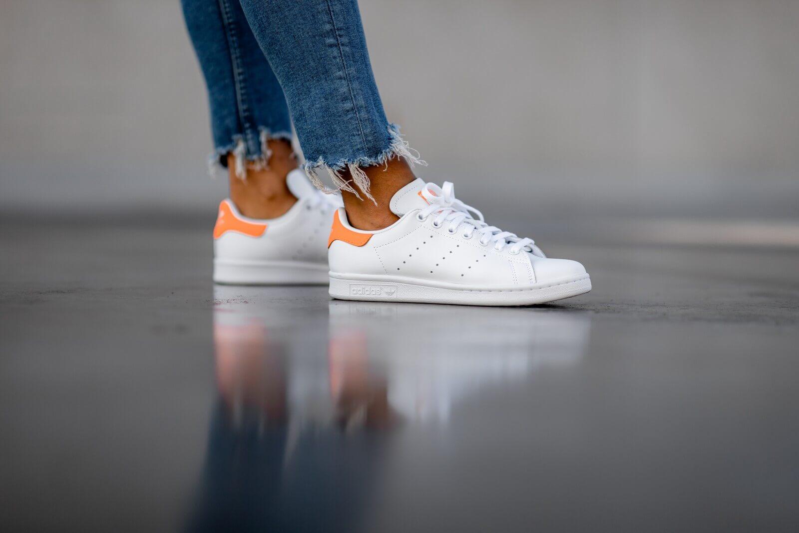 adidas stan smith 2 homme orange online