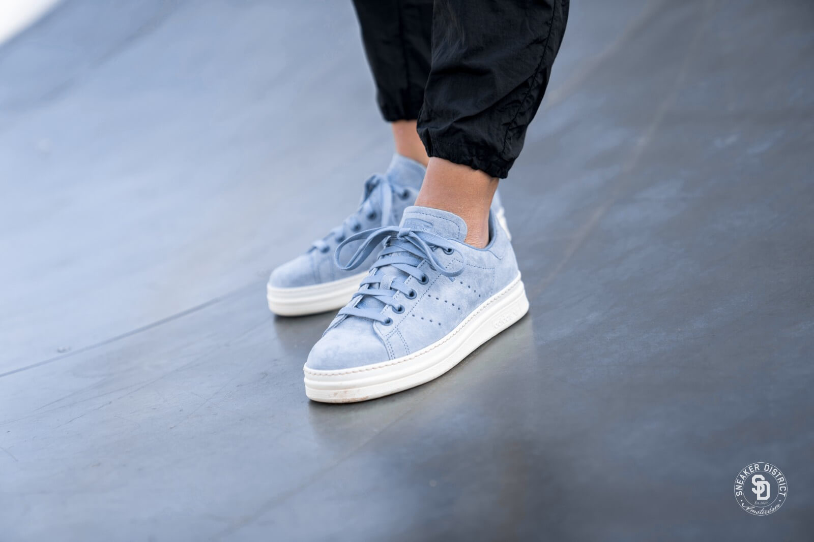 adidas stan smith new bold femme