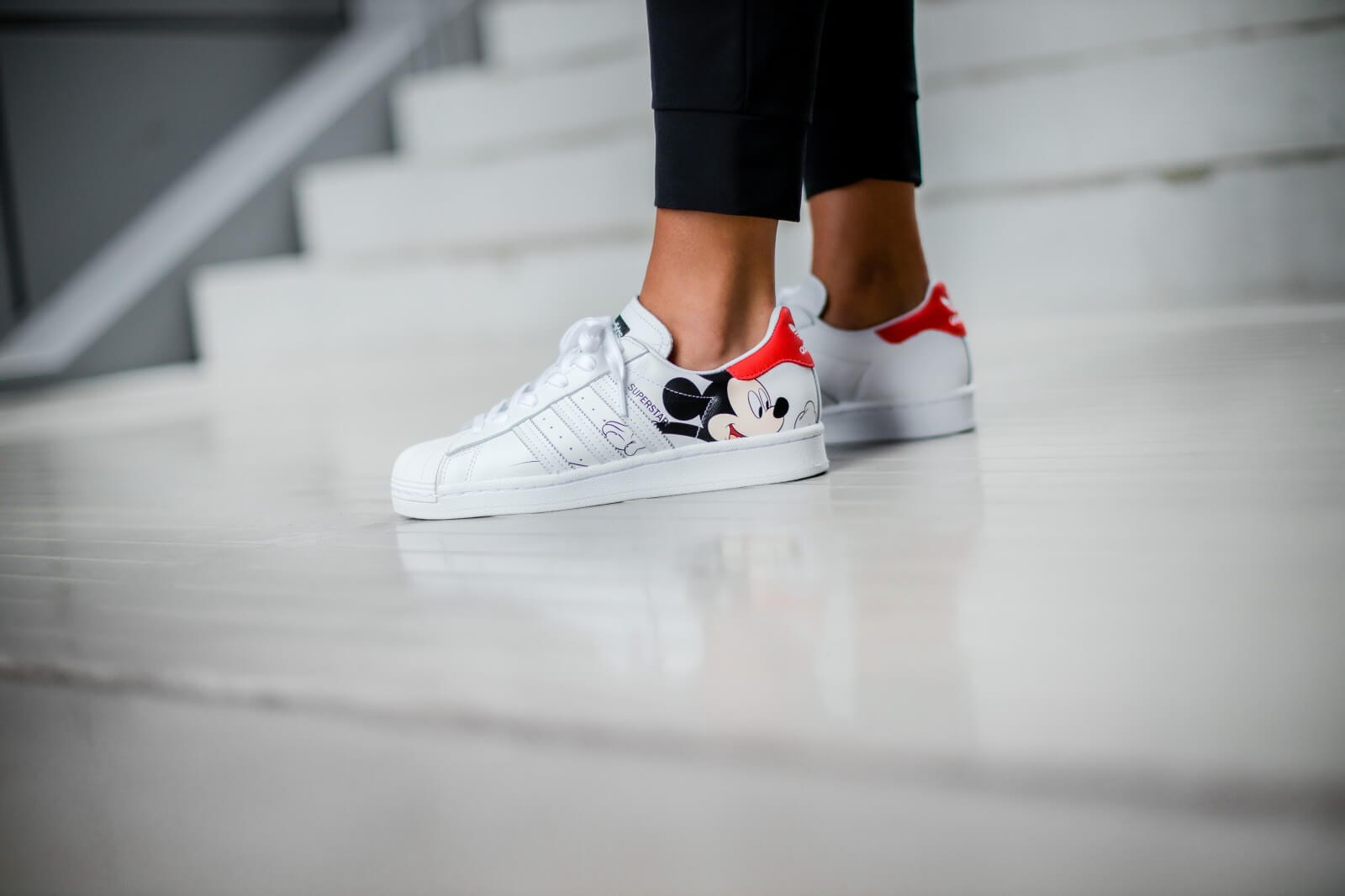Adidas x Disney Superstar Footwear WhiteCore Black FW2901