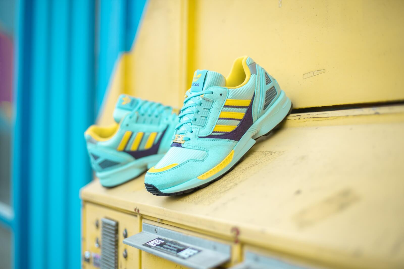 Adidas ZX 8000 Clear AquaLight Aqua Shock Yellow EG8784