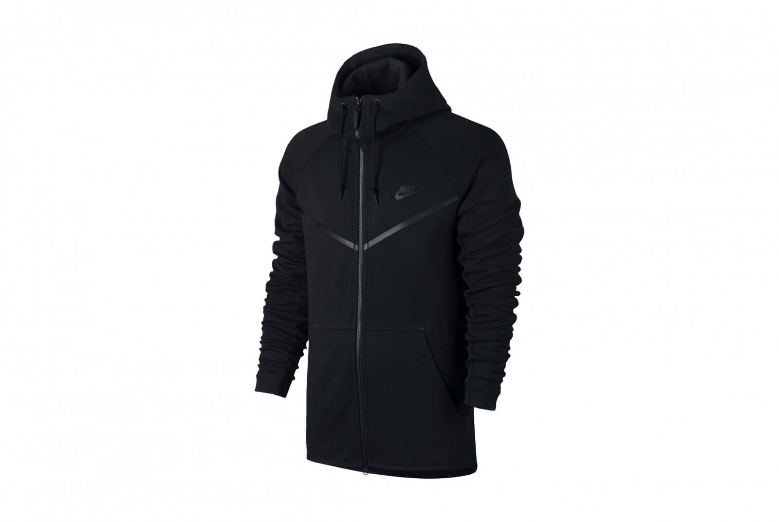 Nike Sportswear Tech Fleece Windrunner Hoodie BlackBlack 805144 010