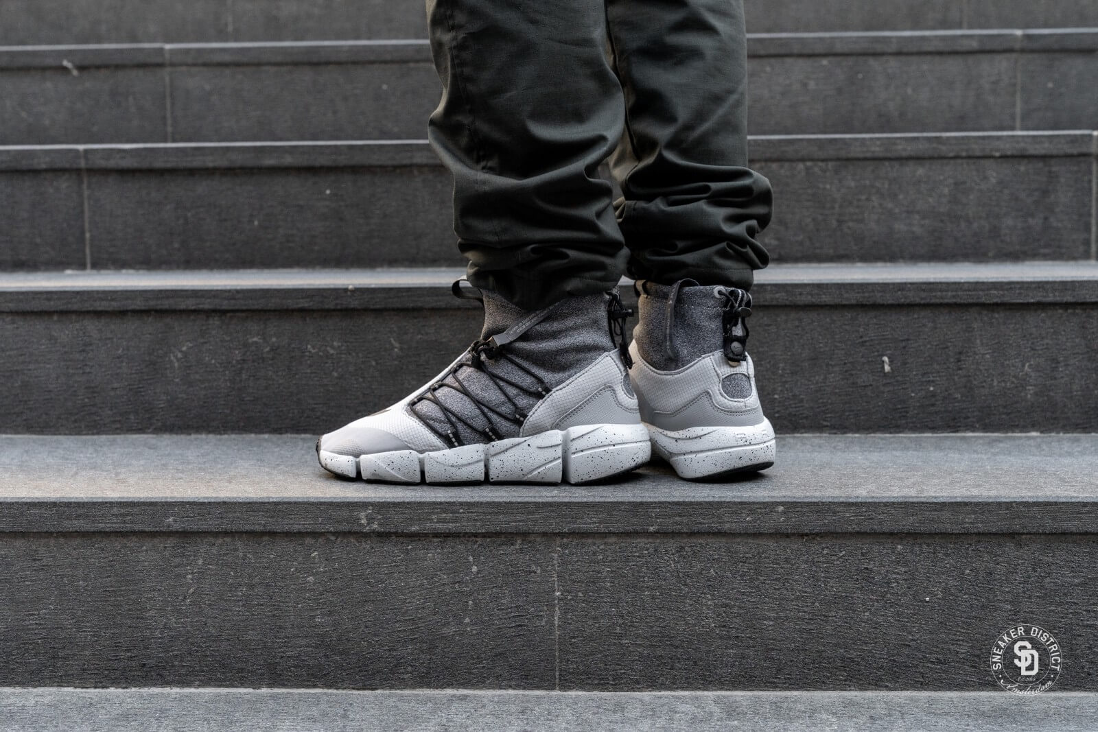 Nike Air Footscape Mid Utility DM Wolf GreyBlack Cool Grey Pure Platinum AH8689 002