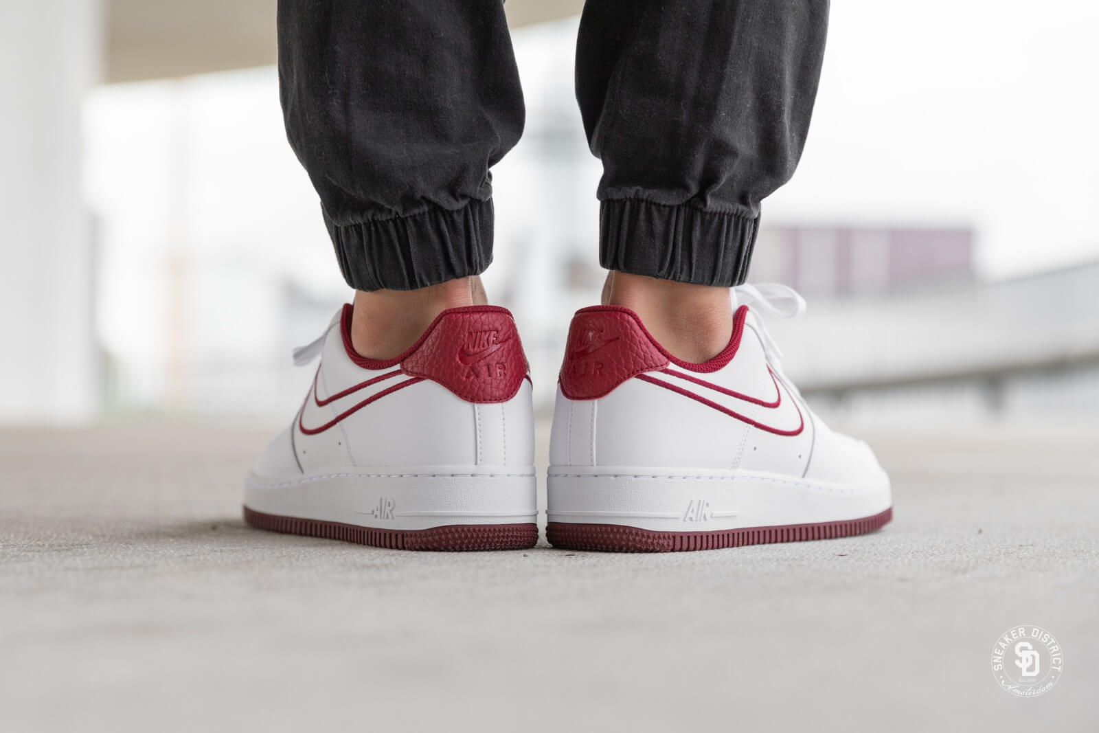 nike air force blanche et rouge 1 07