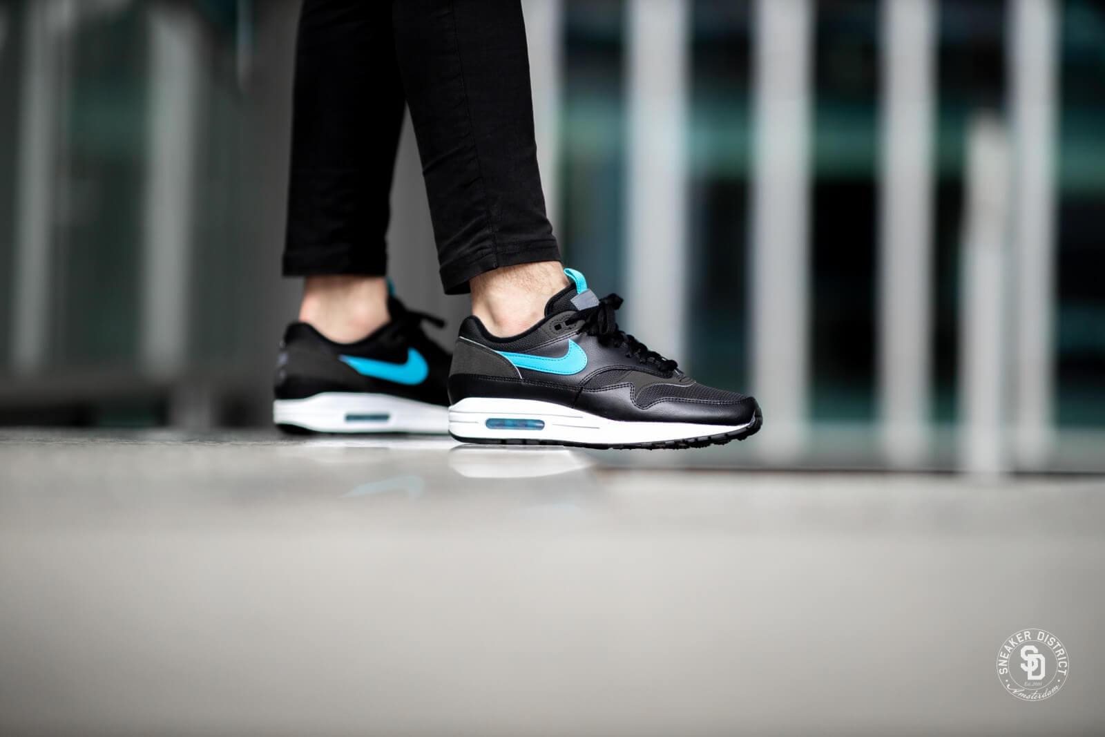Nike Air Max 1 SE BlackBlue Fury CD1530 001