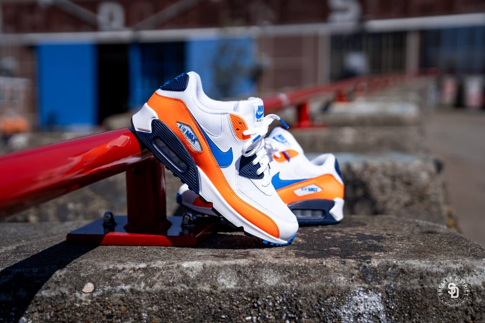 nike air max 90 essential homme orange