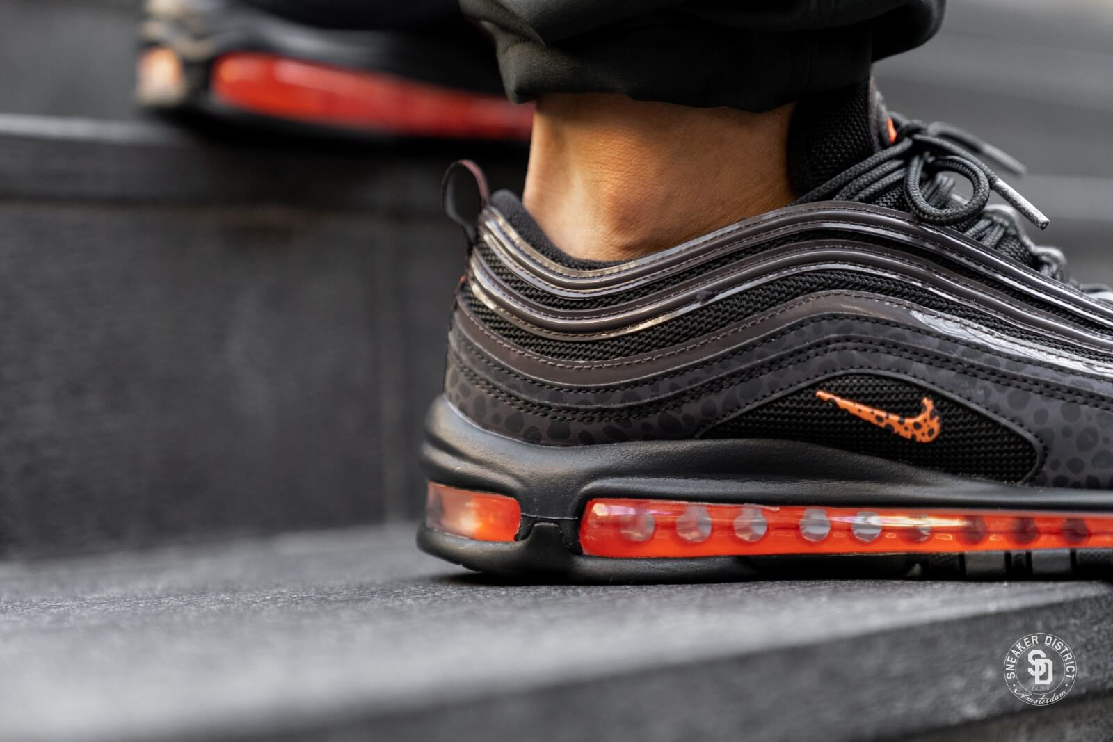 Nike Air Max 97 SE Reflective Off NoirTotal Orange BQ6524 001
