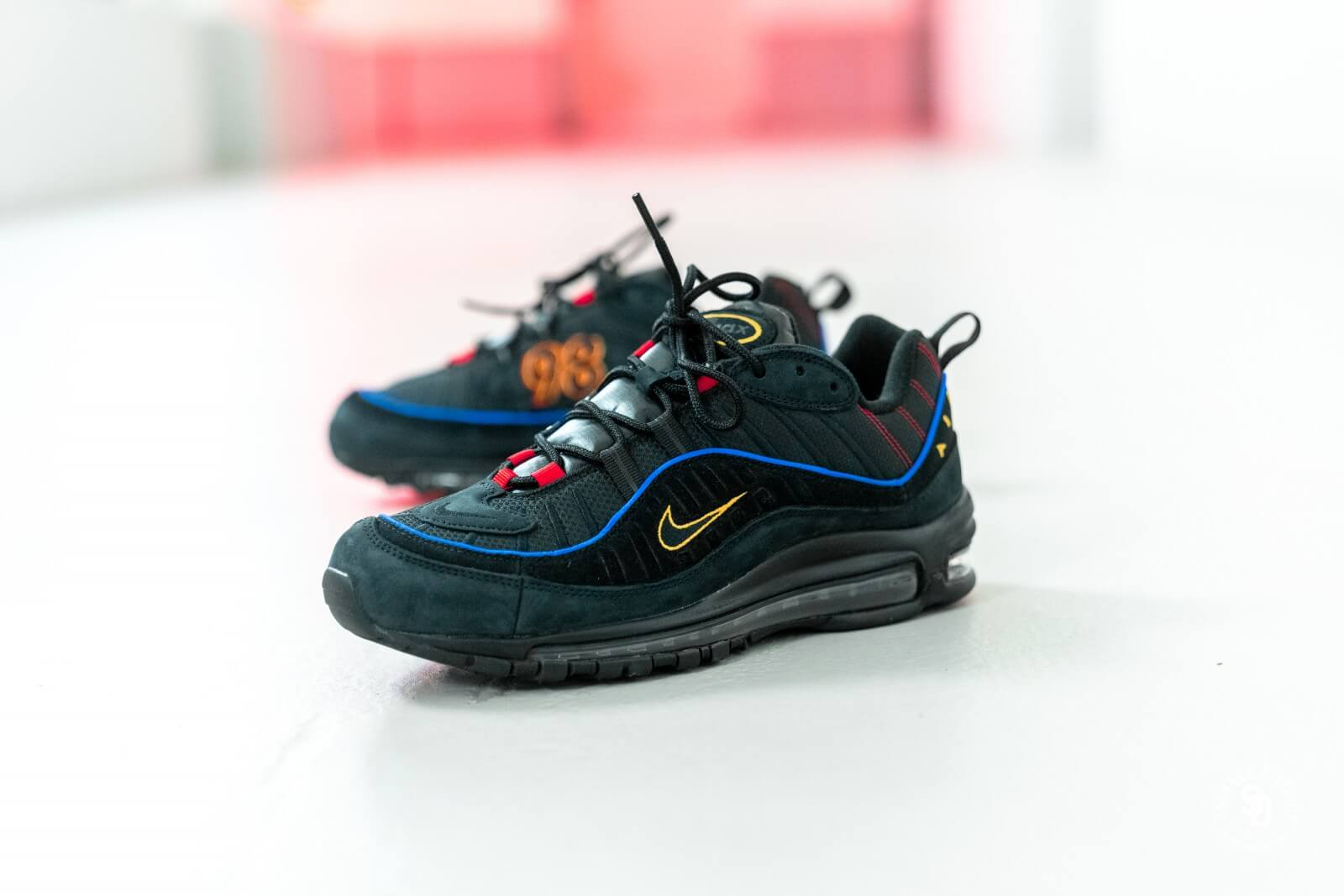 nike air max 98 black multicolor