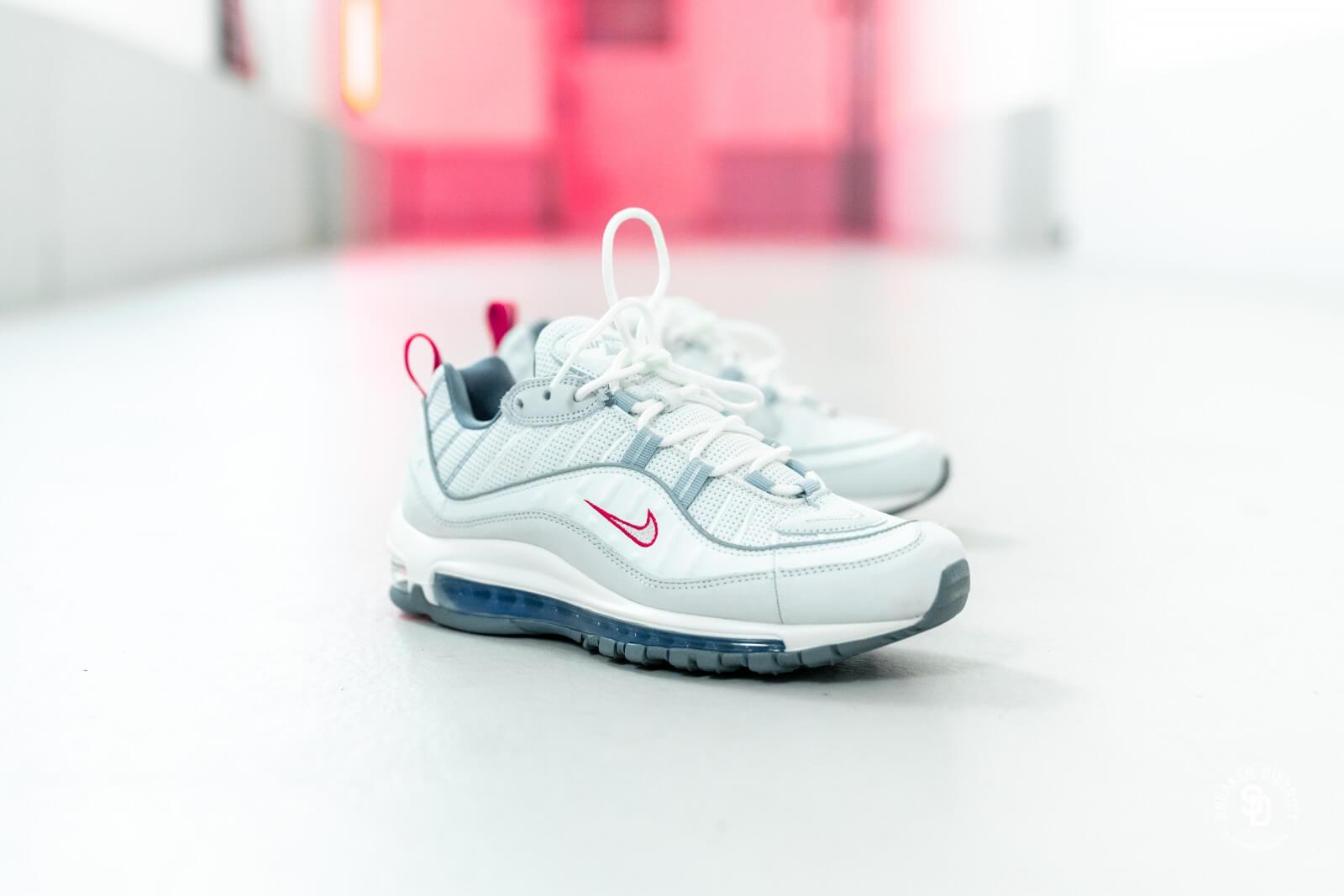 Nike Air Max 98 Summit WhiteMetallic Silver CD1538 100