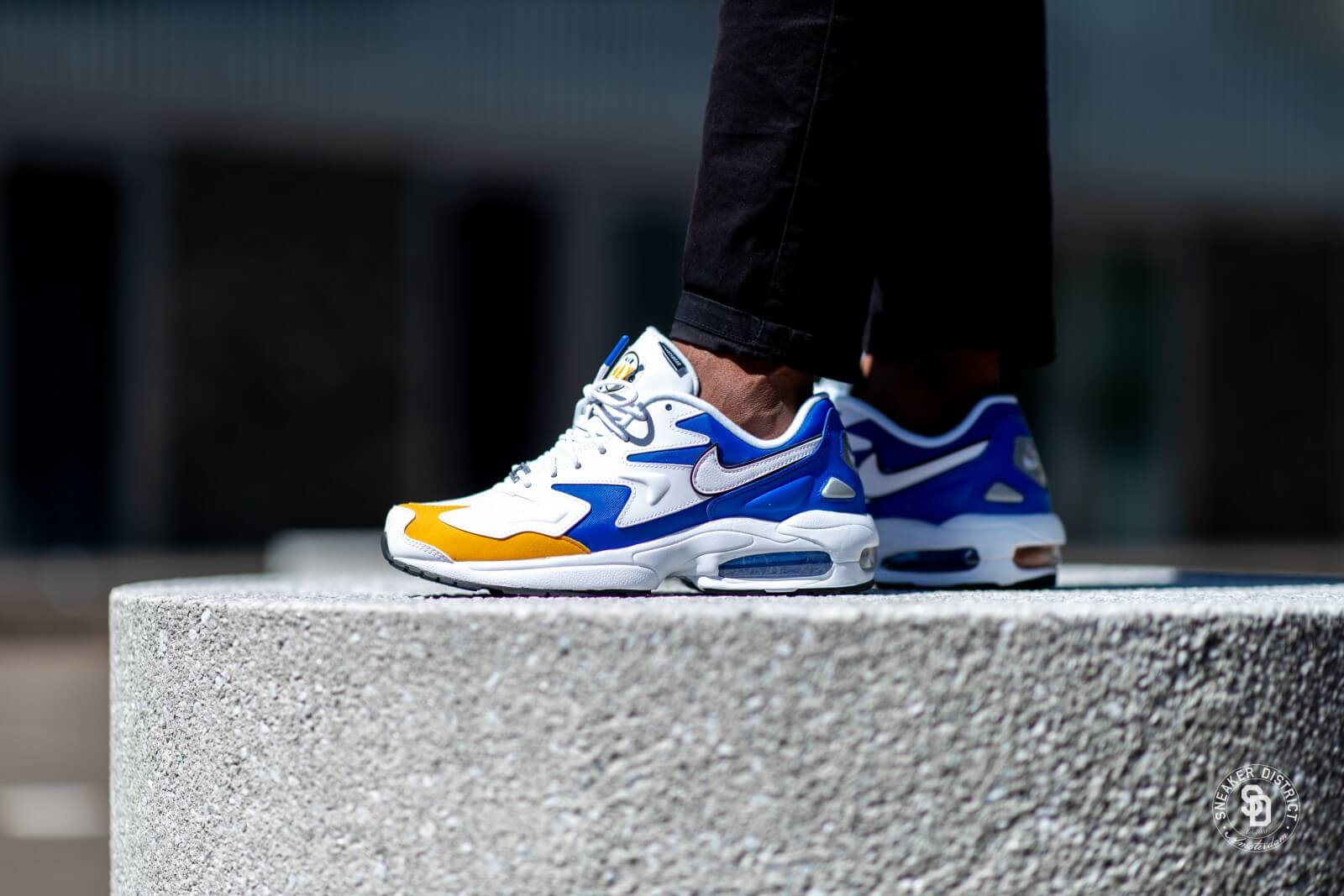 air max 2 light bleu