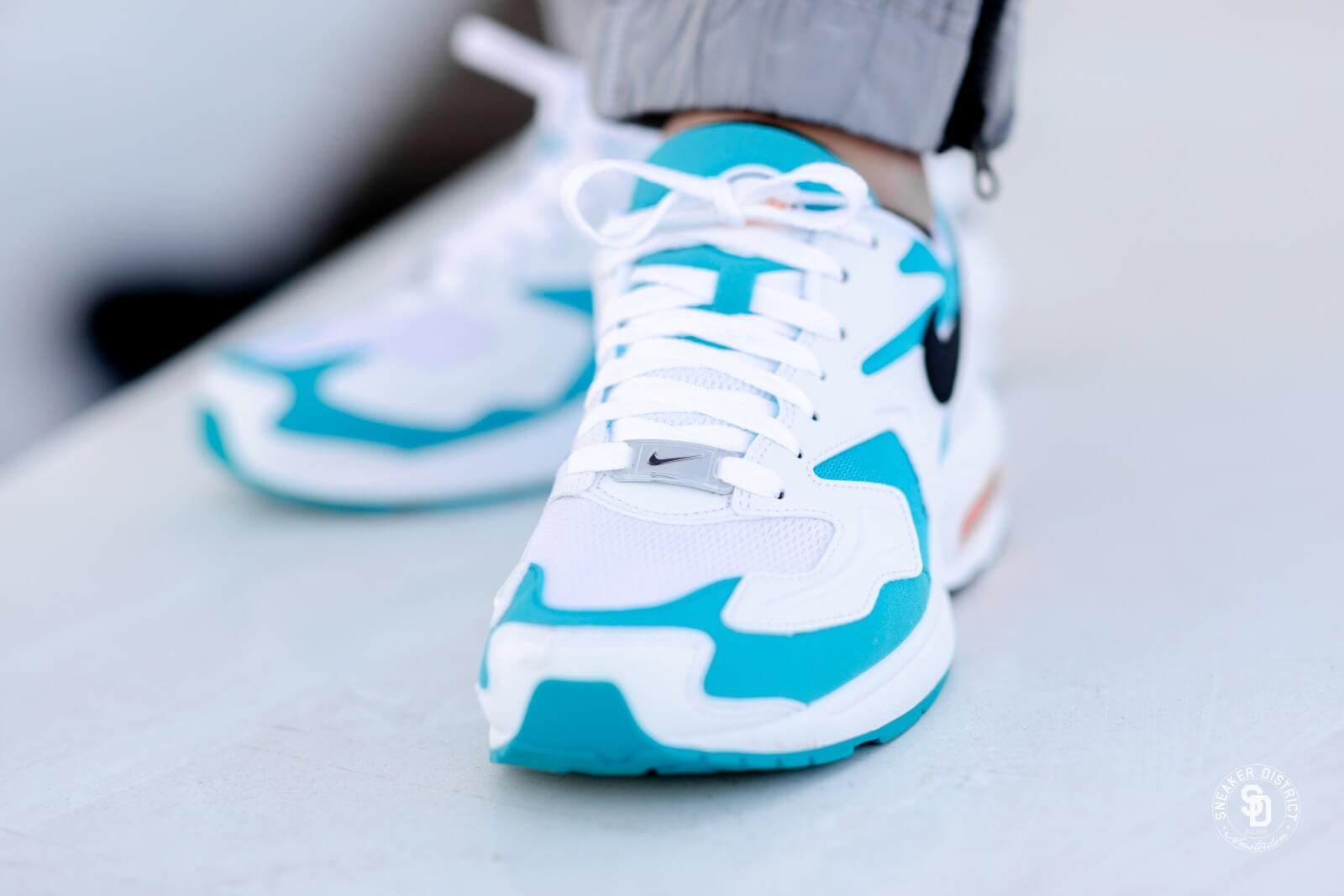 air max 2 light blue femme