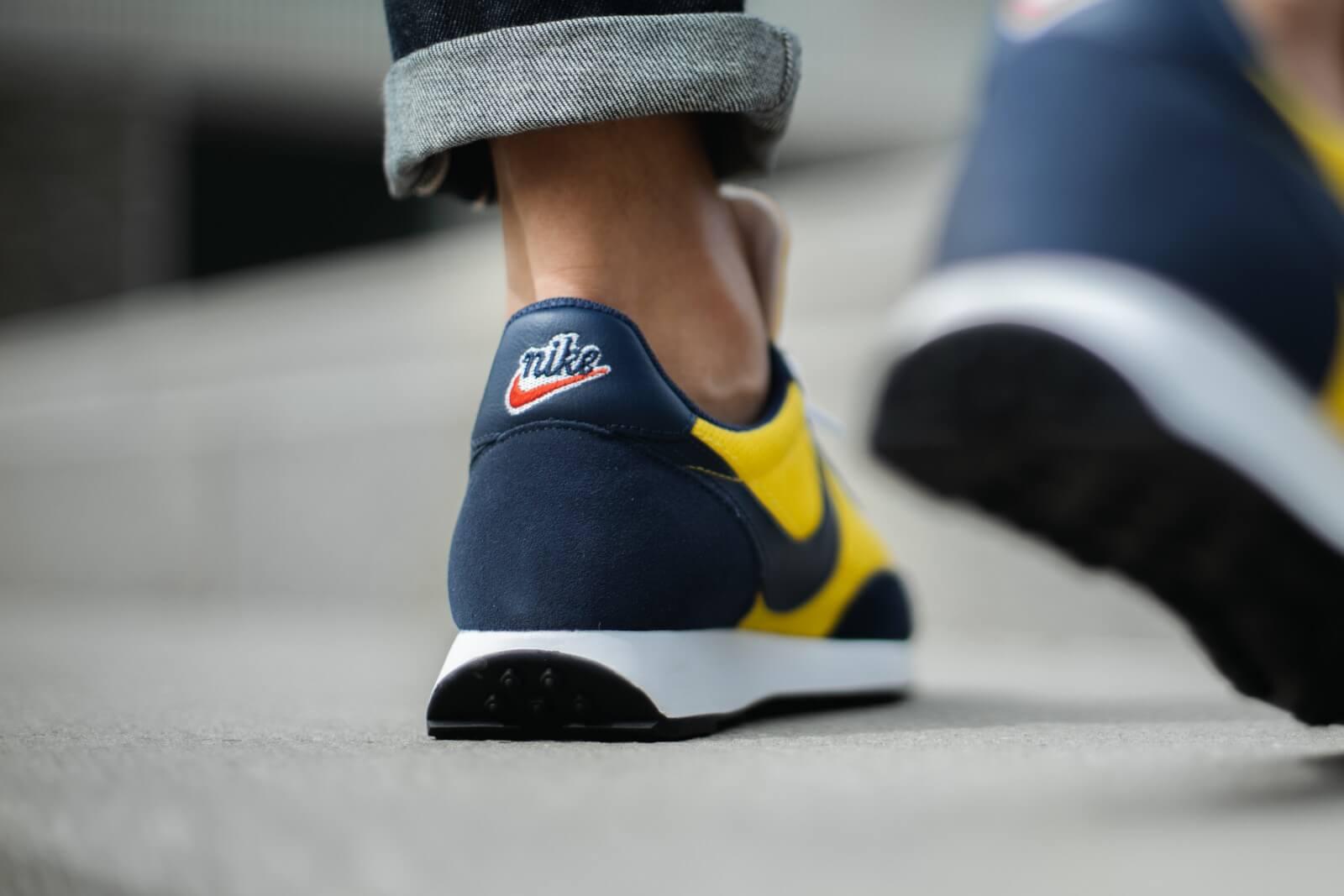 Nike Air Tailwind 79 Speed YellowMidnight Navy 487754 702
