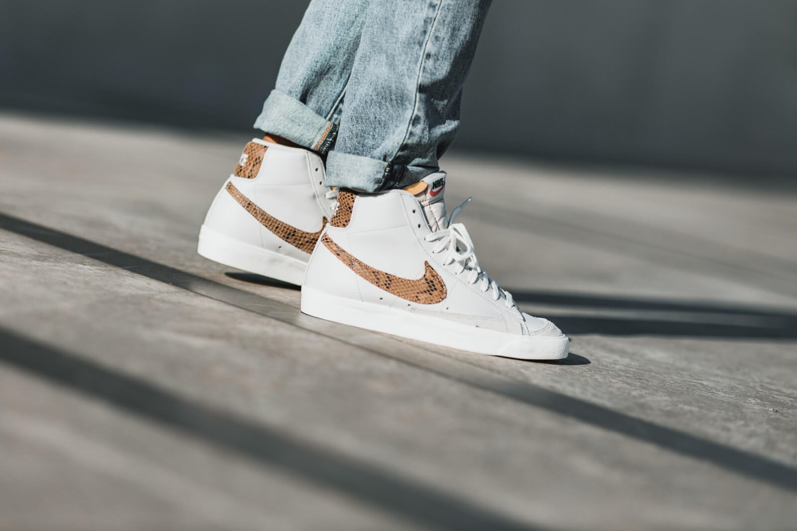 nike blazer denim