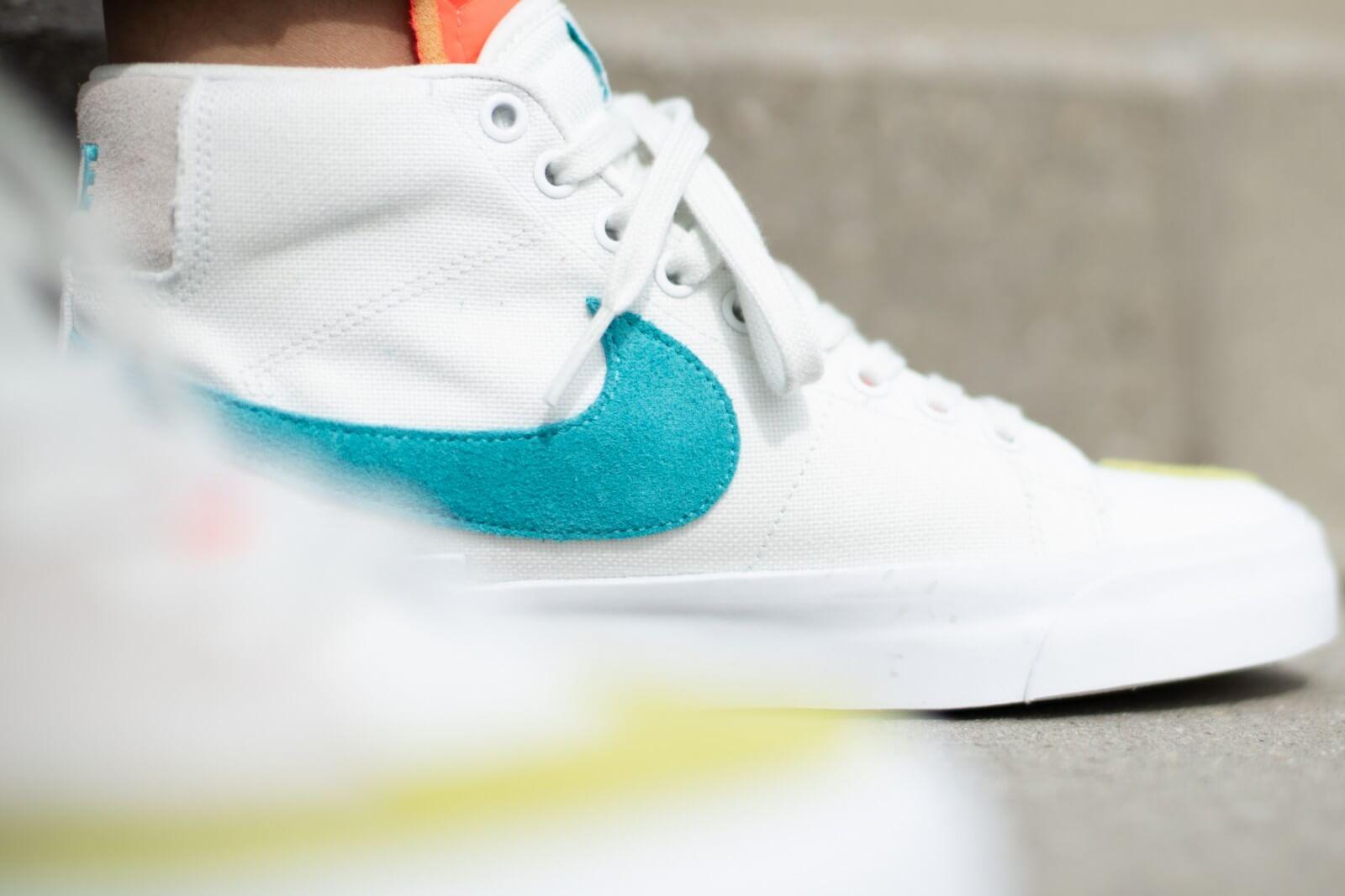 Nike SB Zoom Blazer Mid Edge Summit WhiteOracle Aqua CI3833 101