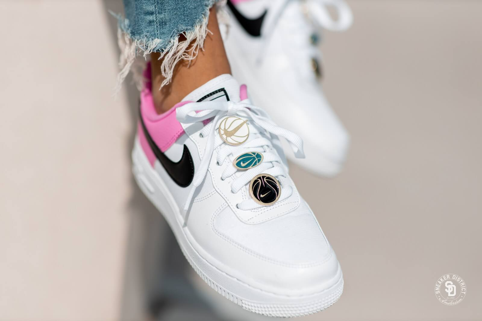 nike air force 1 '07 blanche rose