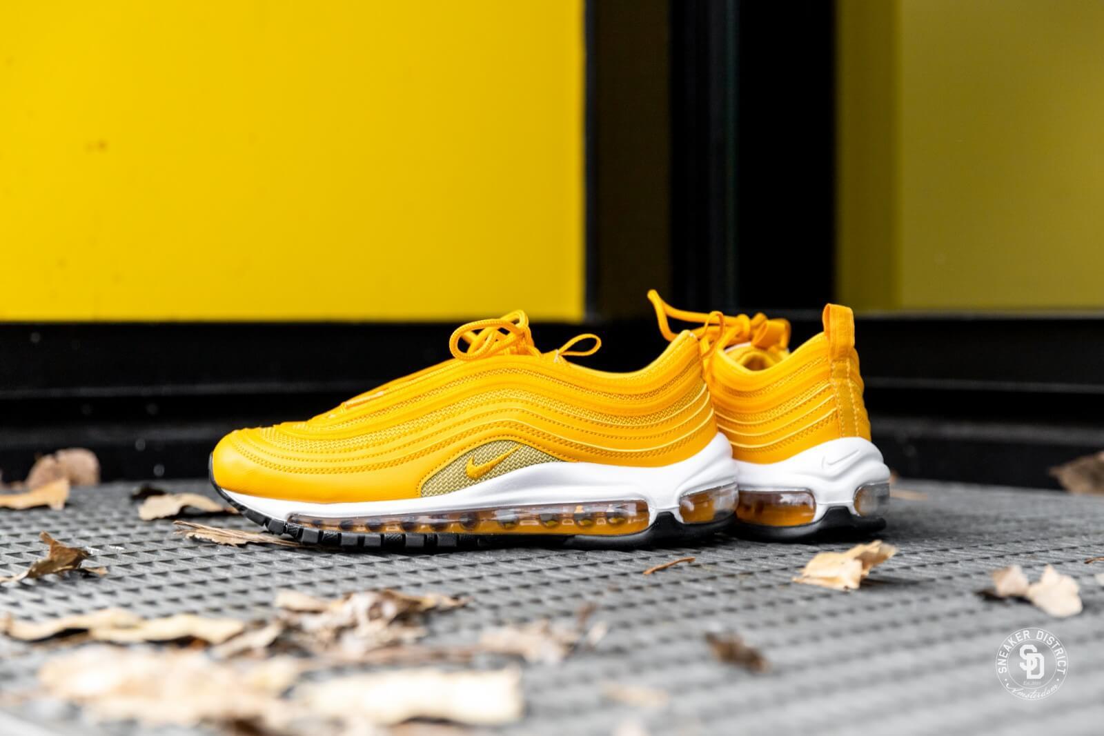 Nike Women's Air Max 97 Mustard/Buff Gold
