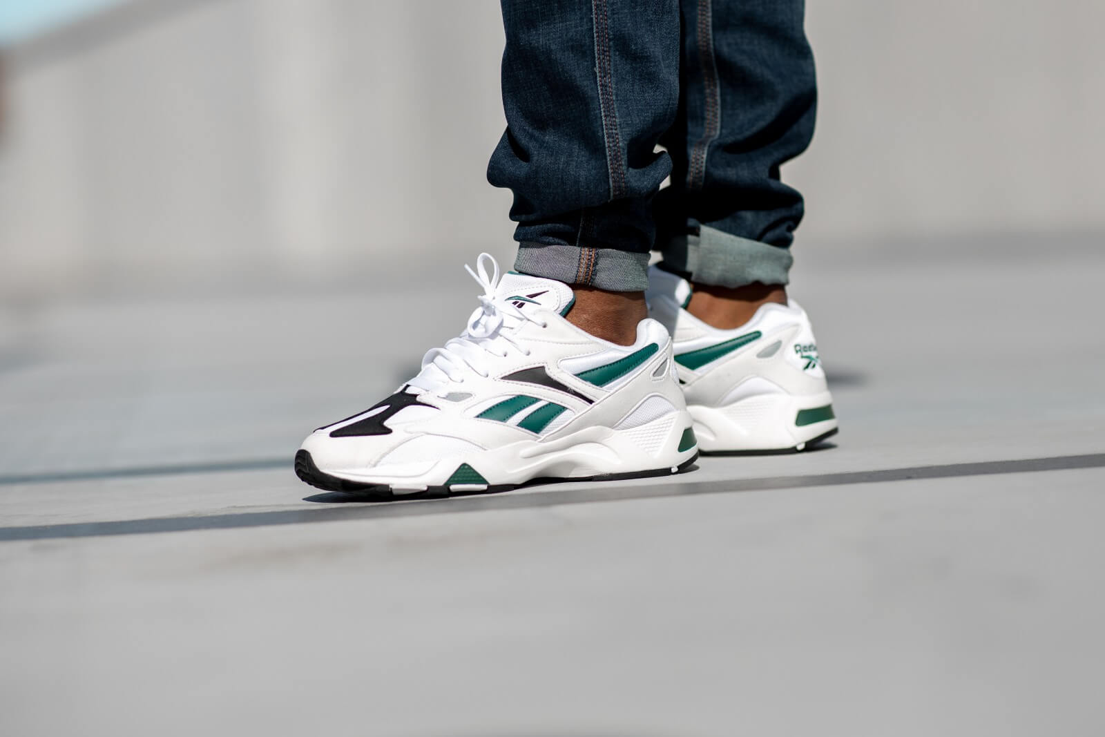 Reebok Aztrek 96 WhiteRapid Teal Black DV6757