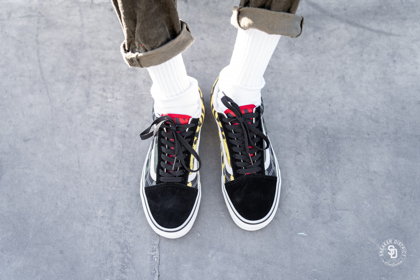 Chaussures Tie Dye Old Skool | Violet | Vans | Vans